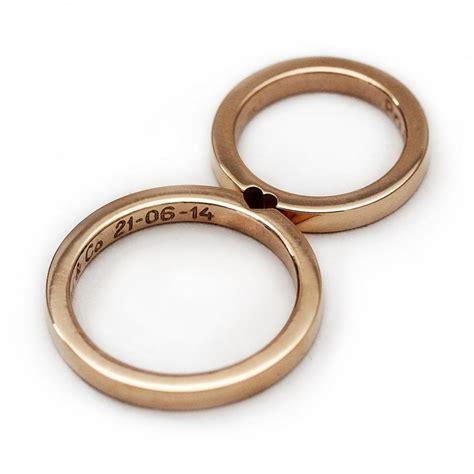 14k gold wedding ring set promise ring wedding ring