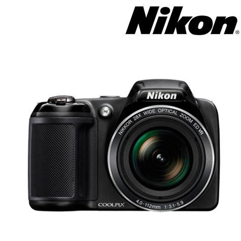 camara fotograficas nikon c 225 mara nikon l340 semiprofesional estuche 8gb negra