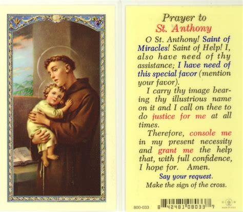 prayers to st prayer to st anthony words to inspire