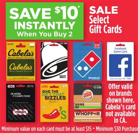 Dollar Store Gift Card Balance - dollar general 10 instant savings wyb 2 gift cards