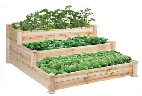Sale On Raised Garden Beds At Walmart Dwym Vegetable Garden Kits For Sale