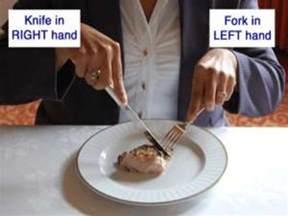 Setting Table Etiquette - dining etiquette