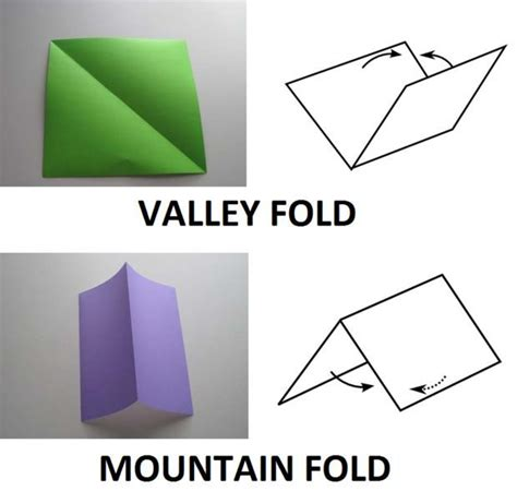 What Is A Valley Fold In Origami - 1000 images about pepakura on halo