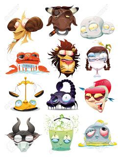 wallpaper animasi bergerak zodiak gambar kartun zodiak lucu dp horoskop funny zodiacs