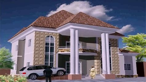 100 duplex building contemporary nigerian modern duplex house plans in nigeria youtube