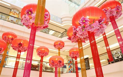 new year decorations malaysia 11 new year mall decorations in malaysia 2018