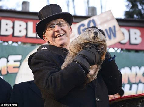 groundhog day uk tv groundhog day predicts early end of winter as punxsutawney