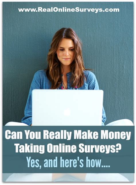 Make Real Money Online Surveys - can you really make money taking online surveys