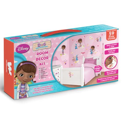 doc mcstuffins bedroom decor disney doc mcstuffins room decor kit 59