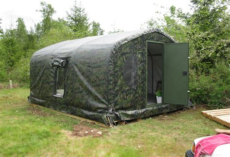 Permanent Tent Cabins by Portable Cabins Weatherport