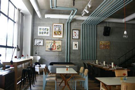 loft design e cafe no end to design loft new american restaurant designed