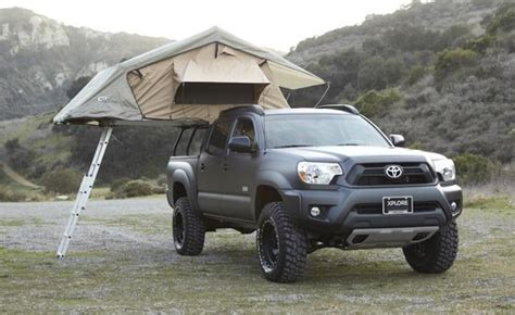 truck bed tent tacoma kodiak truck tent on a 2nd gen tacoma tacoma world
