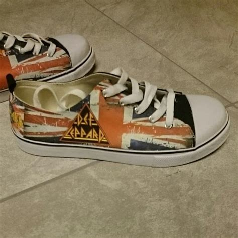 def leppard tennis shoe made to order jandtcreations