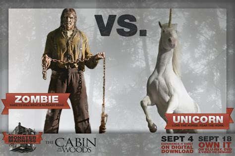 Cabin In The Woods Unicorn by Vs Unicorn The Cabin In The Woods Photo 31960476