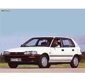 Toyota Corolla Compact 5 Door E90 1987–92 Photos 1024x768