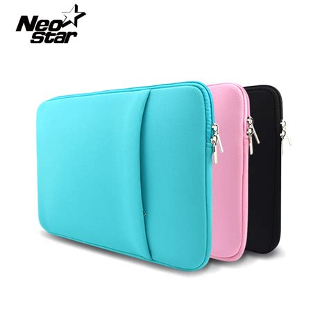 Tas Laptop Sleeve Softcase New Macbook Pro Air Retina 116 154 soft sleeve laptop bag for macbook air pro retina 13 11 15 14 quot for mac pouch cover for