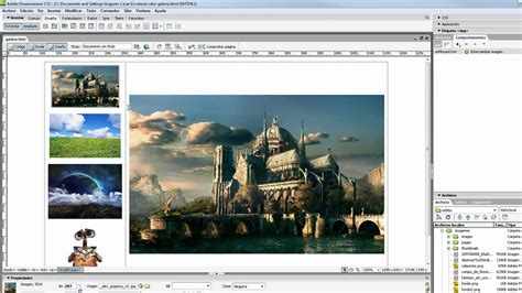 galeria de imagenes web jquery crear una galer 237 a de imagenes en dreamweaver usando