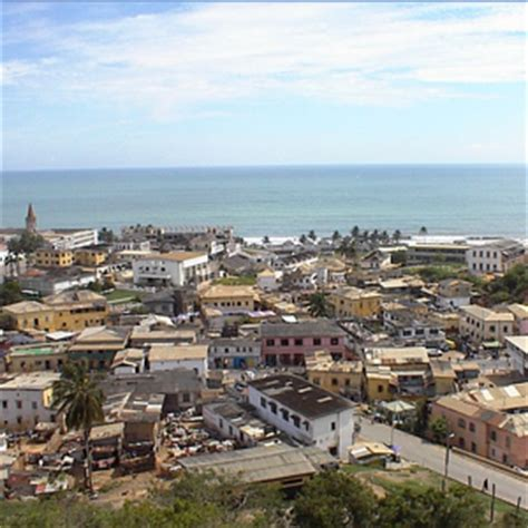 towns  villages  cape coast ghana