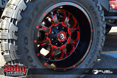 Fuel Jeep Rims Jeep Wrangler Krank D517 Gallery Fuel Road Wheels