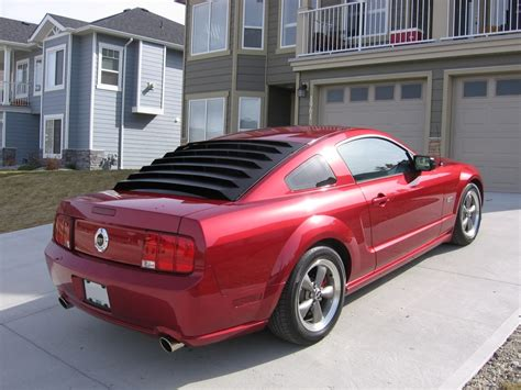 mustang rear window louver astra hammond rear window louvers the mustang source