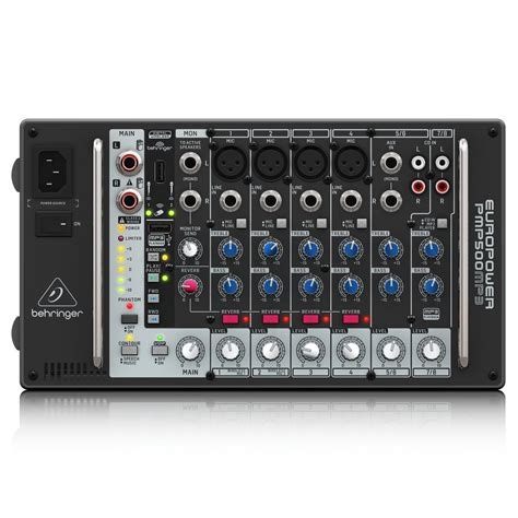 Mixer Behringer 8 Ch behringer pmp500mp3 500w 8 channel powered mixer at