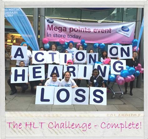 your hearing action on hearing loss rnid boots hearingcare hlt is fundraising for action on hearing