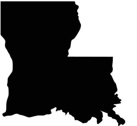 Louisiana Boot Outline by Louisiana The Boot Shaped State Isn T Shaped Like A Boot Anymore Medium