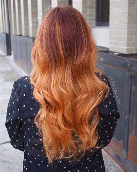 the 25 best copper balayage ideas on copper balayage ombre hair copper 25 copper balayage hair ideas for fall jewe