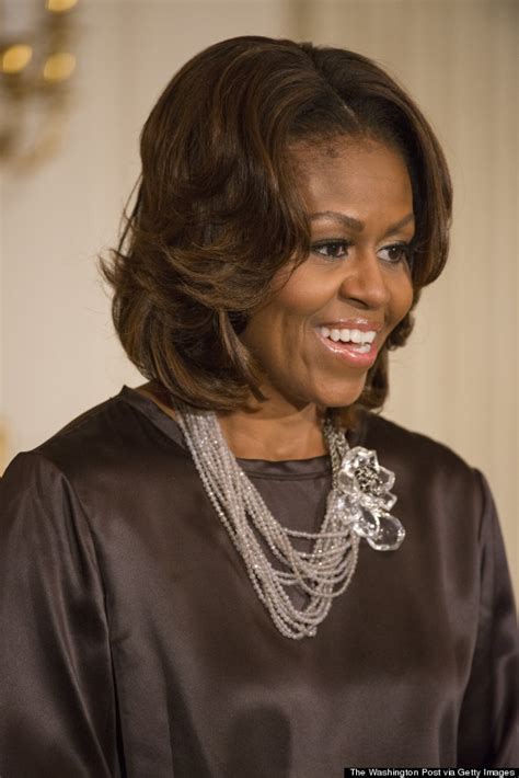 ms obamas hair new cut 50 reasons to love michelle obama on her 50th huffpost