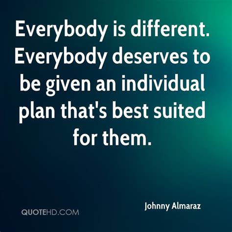 Everybody Is by Everybody Is Different Quotes Quotesgram