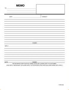 Blank Memo Template by Free Memo Templates