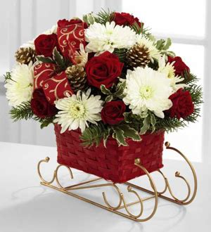 Top 10 Ftd Flower Bouquets by Flowers The Ftd 174 Season S Sleigh Ride Bouquet Ftd Florist