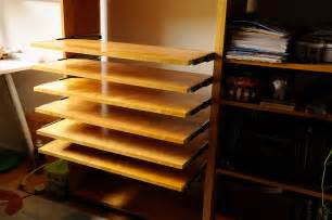 how to make sliding shelves slide out shelves diy rainydaymagazine