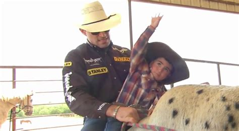 film rodeo cowboy video pbr home movies marchi teaches his kids the