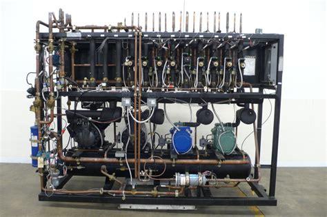 hussmann 30 hp low temp freezer refrigeration rack