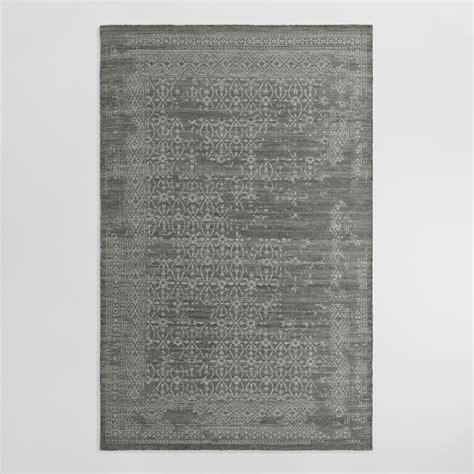 Reversible Rugs by 5 X8 Gray Reversible Flatweave Wool Tahlia Area Rug