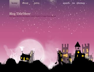 tumblr themes quirky strange little town tumblr