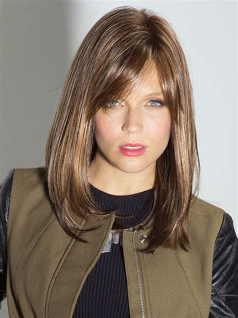 long bob with fringe bob cut wig with side bang noriko wigs seville