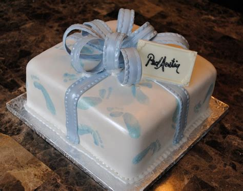 Footprint Baby Shower Cakes by Footprint Baby Shower Cake