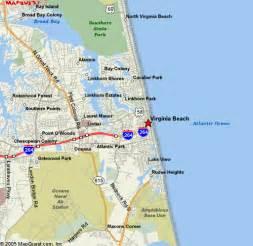 Map Of Virginia Beach Va by Va Beach Va Maps
