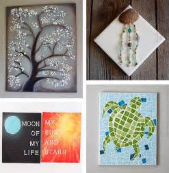 canvas craft projects diy canvas wall ideas 30 canvas tutorials