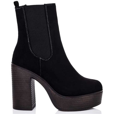 zax black ankle boots shoes from spylovebuy