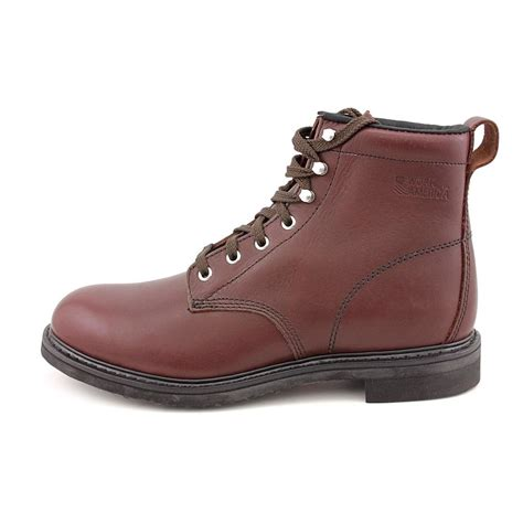 mens narrow work boots work america 6 quot farm mens narrow leather work boots no box