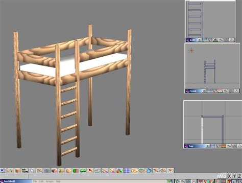 doppel hochbett für erwachsene moderne treppen