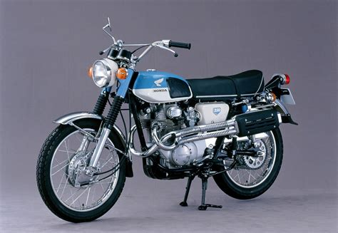 Honda Motorrad 250 by Honda Cl 250 Scrambler 1968 1972 Ein Motorrad Als