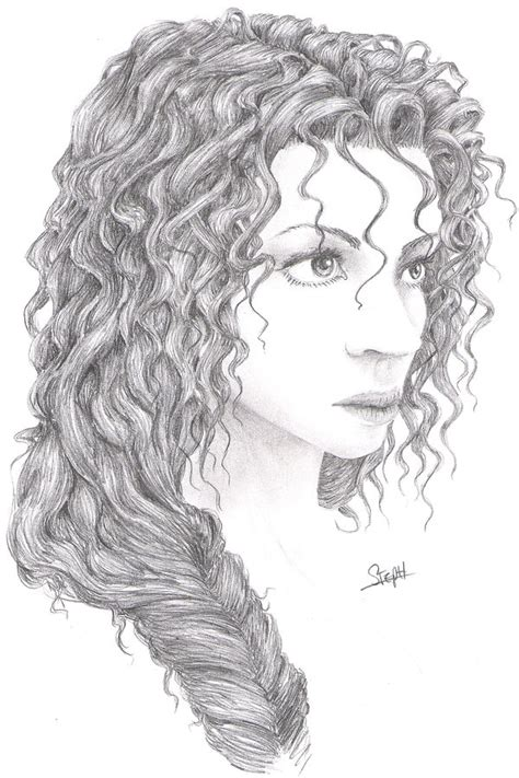 curly hairstyles drawing curly hair by marsfalling on deviantart