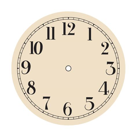 printable clock face without hands clock without hands cliparts co