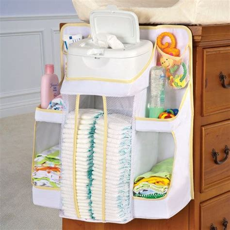 Changing Table Hanging Organizer Nursery Organizer From Onestepahead This Space Saving