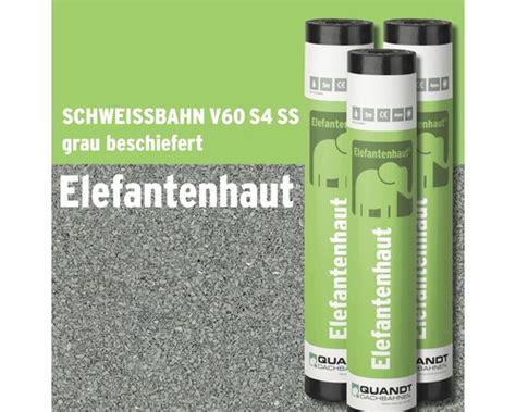 Schweißbahn V60 S4 Beschiefert by Bitumen Schwei 223 Bahn Elefantenhaut V60 S4 Grau Beschiefert