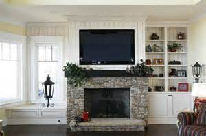 Stone fireplace with tv above ideas car tuning